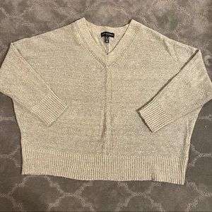Sweaters - V-NECK SWEATER PLUS SIZE